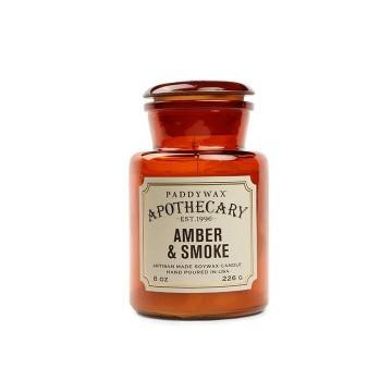AMBER AND SMOKE APOTHECARY CANDLE