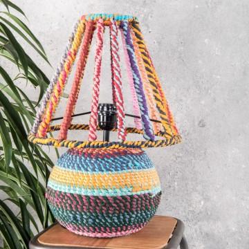 Rag Table Lamp
