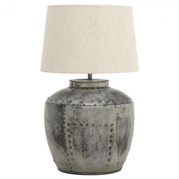 Metallic Antique Table Lamp