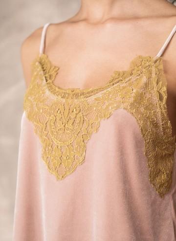 Madame Shoushou Seizieme top (dusty pink)