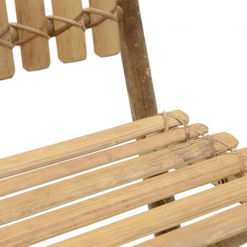 FOLDABLE BAMBOO CHAIR