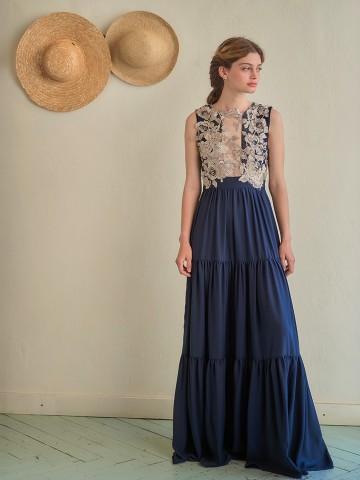 Madame Shoushou Aporrhais dress (blue)