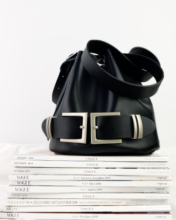 "Individual Art Leather ""Eternity"" shoulder bag"