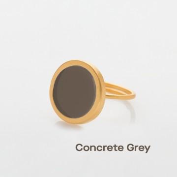 PRIGIPO Palette L ring (concrete grey)