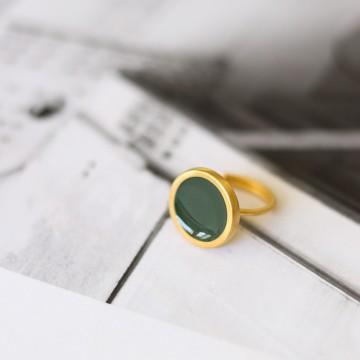 PRIGIPO Palette L ring (olive green)