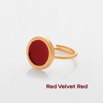 PRIGIPO Palette S ring (red velvet red)