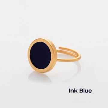 PRIGIPO Palette S ring (ink blue)