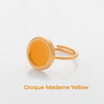 PRIGIPO Palette S ring (croque madame yellow)