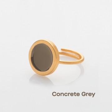 PRIGIPO Palette S ring (concrete grey)