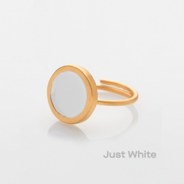 PRIGIPO Palette S ring (just white)