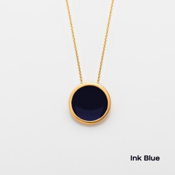 PRIGIPO Palette L necklace (ink blue)