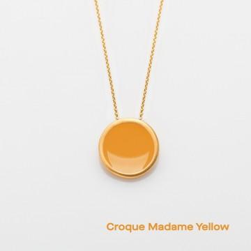 PRIGIPO Palette L necklace (croque madame yellow)