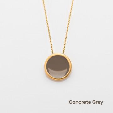 PRIGIPO Palette L necklace (concrete grey)