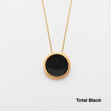 PRIGIPO Palette L necklace (total black)