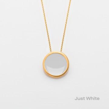 PRIGIPO Palette L necklace (just white)