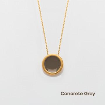 PRIGIPO Palette S necklace (concrete grey)