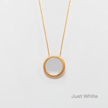 PRIGIPO Palette S necklace (just white)