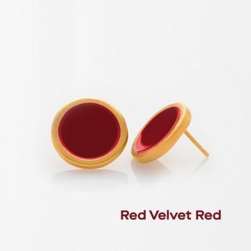 PRIGIPO Palette L earrings (red velvet red)