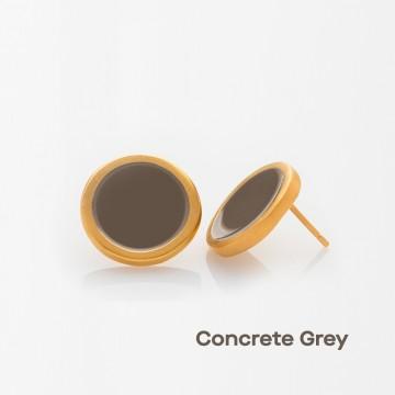 PRIGIPO Palette L earrings (concrete grey)