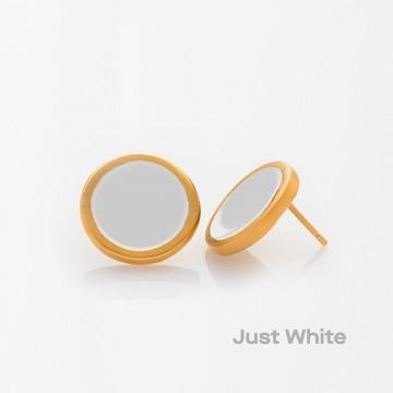PRIGIPO Palette L earrings (just white)