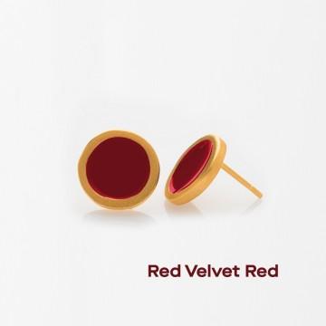 PRIGIPO Palette S earrings (red velvet red)