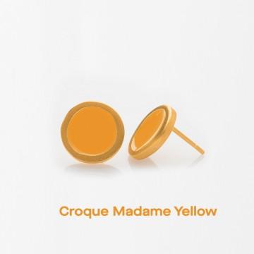 PRIGIPO Palette S earrings (croque madame yellow)