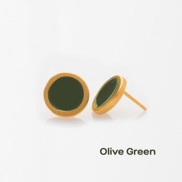 PRIGIPO Palette S earrings (olive green)