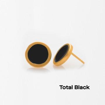 PRIGIPO Palette S earrings (total black)