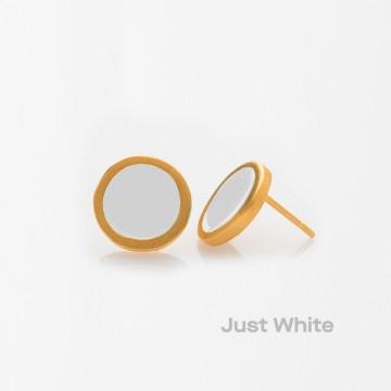 PRIGIPO Palette S earrings (just white)