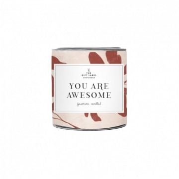 Paddywax Library Tin Soy Candle
