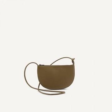 Monk & Anna Farou half moon bag (olive)