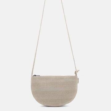 Monk & Anna Farou half moon bag (linen)
