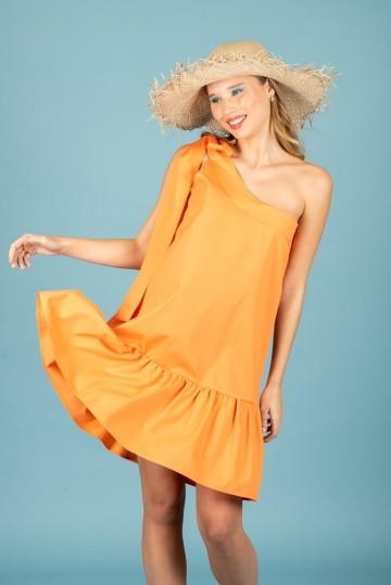 Chaton clothing Emma dress (orange)