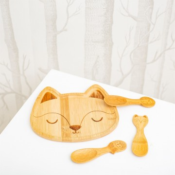 WOODLAND BABY BAMBOO SPOONS - SET OF 3