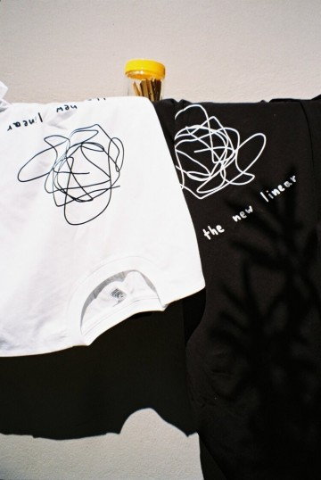 The new liner t-shirt (black)