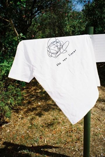 The new liner t-shirt (white)