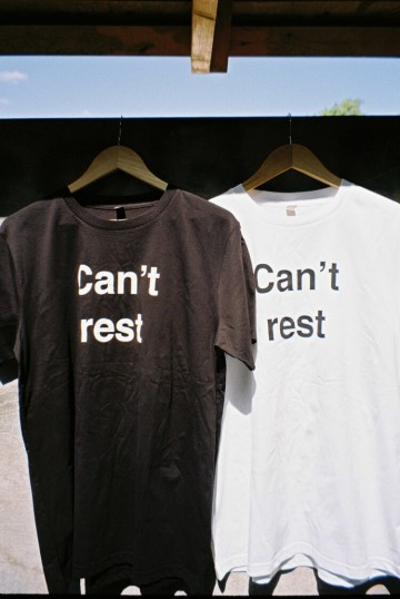 Iddi Can't rest t-shirt (white)
