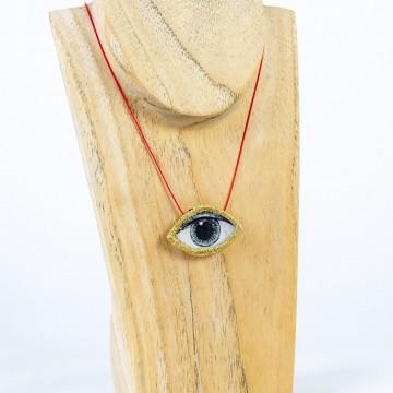 Nefeli Karyofilli Golden eye (red stripe)