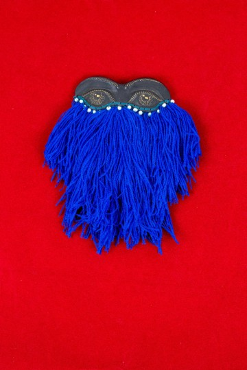 Nefeli Karyofilli Masquerade ball brooch