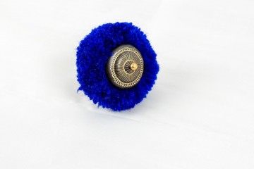 Nefeli Karyofilli Fluffy purple ring